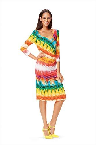 Burda 6641 Schnittmuster Jersey-Kleid (Damen, Gr. 36-46)