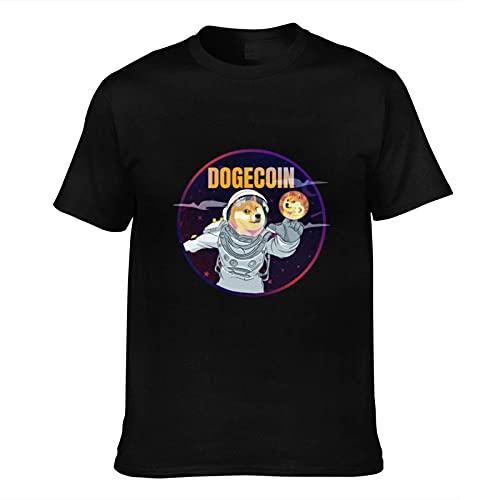 T-shirt « Coin to The Moon » avec chaîne de blocage HODL Crypto monnaie CoolCoin's Trust in us - - 3XL