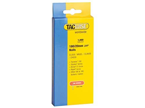 Tacwise 0361 Nägel Verzinkt 180/25mm (1.000 Stück)