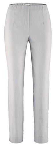 Stehmann INA-740, Bequeme,stretchige Damenhose-Bitte mindestens 1 Nummer Kleiner bestellen, light grey, 36