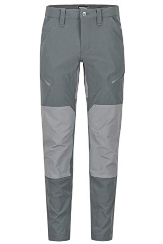 Marmot heren Limantour Pant Trekkingbroek Softshell functionele broek, waterafstotend, Slate Grey/Cinder, 34