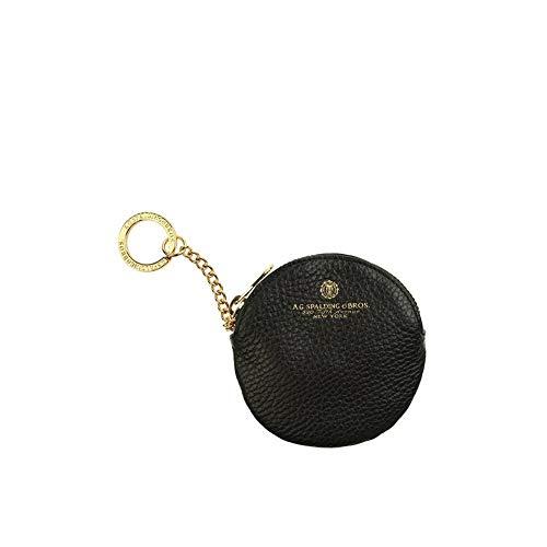 Porta Chiavi Cerniera Ovale   Spalding & Bros Tiffany   173768U900-Nero