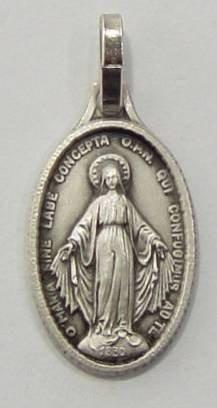 Médaille wundertätige madonna 20 mm