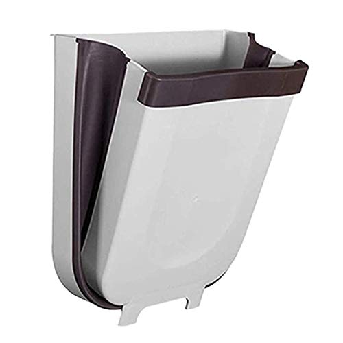 XINLANYU Hanging Trash can Foldable small Trash can for Cabinet Door Folding Trash can
