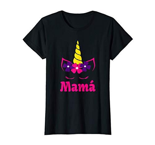 Mujer Camisa de unicornio para mama de cumpleanos Camiseta