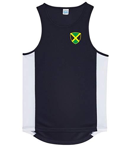 Nation Jamaika Trikot Tank Top Athletic Sport Gym ATH BR-SC (L)