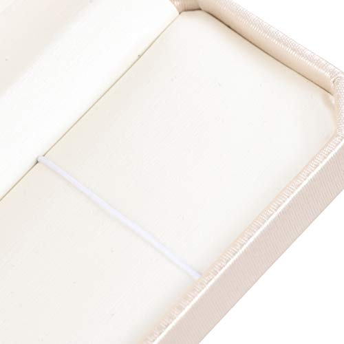 Liyeehao Caja de Almacenamiento de Pulsera, Caja de Collar, Forma enérgica, Collares exquisitos duraderos, Colgantes, Bodas, cumpleaños, Aniversarios para el hogar, Pulseras de Oficina, Relojes