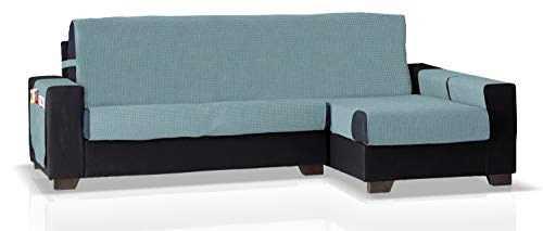 JM Textil Cubre Chaise Longue GEA Brazo Derecho, Tamaño Normal (245 Cm.), Color Turquesa