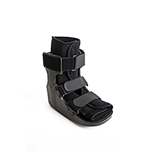 To find your perfect fit, check the second image for sizing information. Fits left or right foot. Lightweight, low rocker profile and cushioned heel for patient comfort and energy absorption State of the art design provides greater protection and dur...