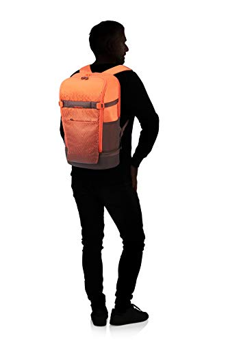 Samsonite Hexa-Packs - Laptop Backpack Large - Travel Rucksack, 50 cm, 22 Liter, Orange Print