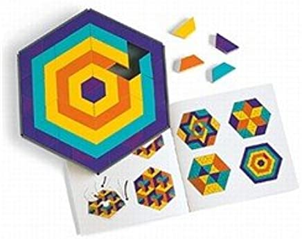 Amazon com: Discovery Toys Mosaic Mysteries Pattern Puzzle: Toys & Games