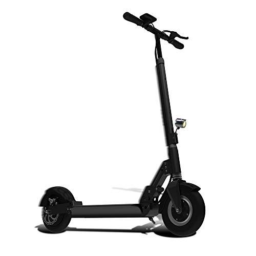 """Patiente eléctrico SMARTGYRO Xtreme Pro Patinete, 8"""", 3, Velocidad 25 h, Autonomía 30 Km, Batería de Litio 10.000 mAh, Doble Suspensión, Freno de Disco, Scooter Eléctrico, Adultos Unisex, Negro, L"""