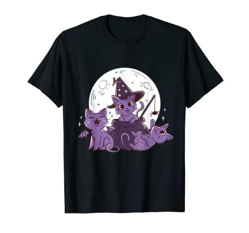 Süsse Katzen Cat Kätzchen Halloween Party Kostüm Halloween T-Shirt