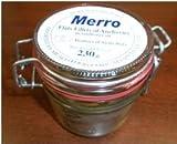Merro - Sicilian Flat Fillets of Anchovies, (1)- 8.1 oz. Jar by Merro