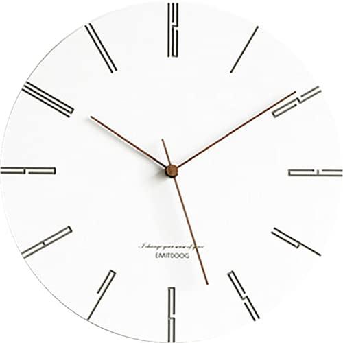 Reloj de pared simple Europa reloj de pared relojes de pared digital creativo Guess mujeres diseño decoración del hogar mute reloj moderno cuarzo