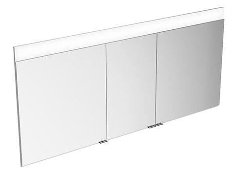 Keuco Spiegelschrank 21513171301 Edition 400 Wandeinbau, 1 Lichtfarbe, 1410x650x154mm Keuco