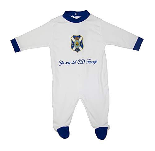 Tenerife PELTNF Pelele, Unisex bebé, Blanco, 3
