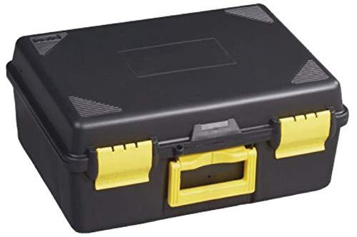 Maleta porta taladros y tapa lisa | Almacenaje para herramientas y brocas de taladros | Medidas 440 x 330 x 190 mm