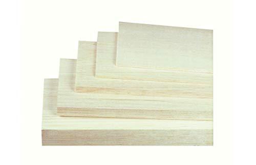 JAMARA 231013 - Balsabretter 3.0 mm x 100 mm x 1000 mm-aus AAA Balsaholz Qualität, Made in Germany