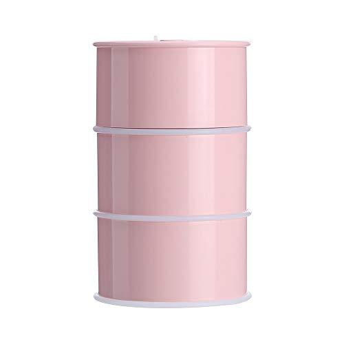 LJ - Humidificador de aire para coche, con batería de aceite USB (color: rosa)