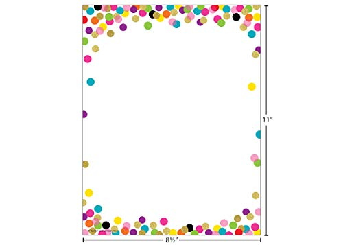 Confetti Computer Paper Photo #2