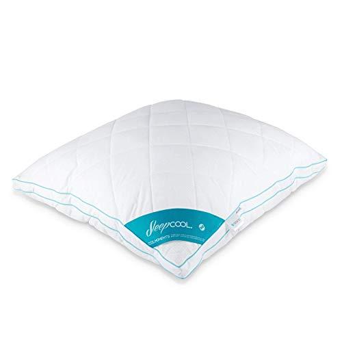 SleepCOOL Kühlendes Kopfkissen 80x80cm COOL.Moments – Extra großes Kissen mit Kühleffekt