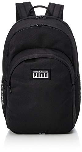 PUMA Academy Backpack Mochilla, Unisex Adulto, Black, OSFA