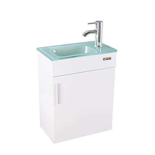 "eclife Bathroom Vanity W/Sink Combo, 18.4"" for Small..."