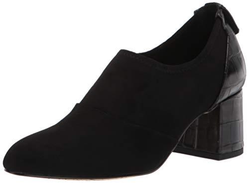 Bella Vita Women's Fashion Boot, Black Suede, 8 Narrow