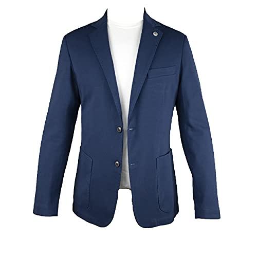 EXIGO Chaqueta de jersey de color liso, art. 1021301 turquesa 44