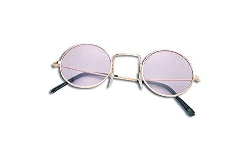 Bristol Novelty BA506 Lennon Brille, Lila, violett, Einheitsgröße