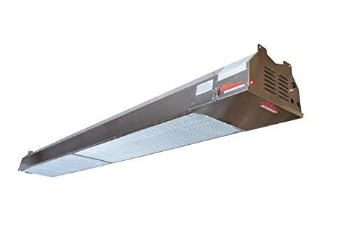 Calcana Patio Heater - PH-75HO-10' High Output – Natural Gas – Marine Grade 316 Stainless Steel - USA Made