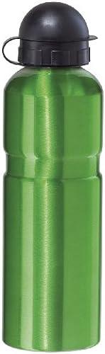 Oggi Edelstahl glanz Sport Flasche 0,75 ter 25 ze mit Verriegelung Ziehen Trinkschnabel, Grün