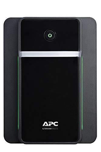 APC Back UPS BX – BX1600MI-GR - unterbrechungsfreie Stromversorgung 1600 VA mit Schuko Ausgängen, Batteriesicherung & Überspannungsschutz, Backup-Batterie mit AVR, Datensicherungsfunktion