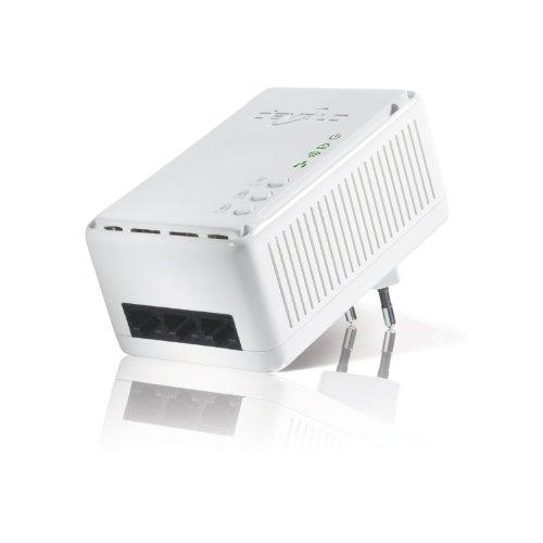 Devolo dLAN 200 AV Wireless N (3-Port-Switch - Ethernet, HomePlug AV, Netzwerk aus der Steckdose) weiß