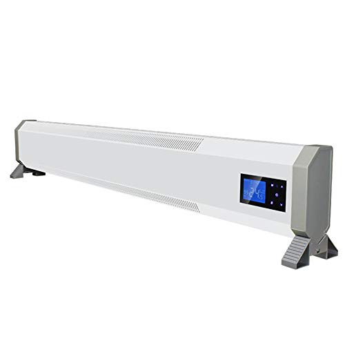 Low Profile ruimteverwarming, convectie verwarmingsstrip verwarming met thermostaat Thermal Cut-Off valbeveiliging convector 2500W
