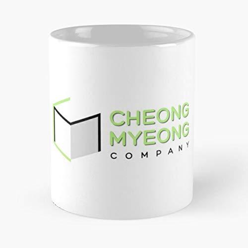 Compañía Cheongmyeong coreano Myeong Start Kdrama Drama Cheong Up Startup Mejor Taza de café de cerámica de 11 oz Personalizar