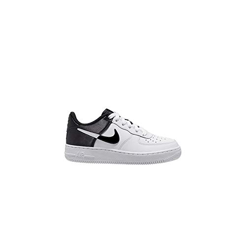 Nike Air Force 1 '07 LV8 1, Zapatillas para Hombre, White/Black/White, 45 EU