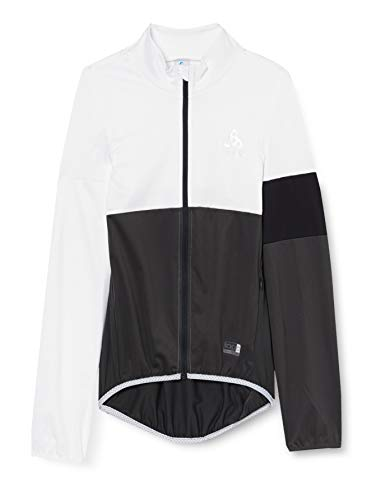 Odlo Herren Jacke Jacket logic MISTRAL, white/Graphite grey, L