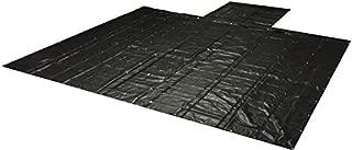Mytee Products Heavy Duty 18oz Lumber Tarp 20x18 (6' Drop with 6' x 8' Flap) - Black