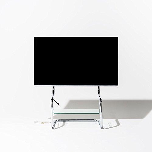 ザイトガイスト zeitgeist FSM フロア スタンド メタル シンプル モダン デザイン テレビ スタンド 壁寄せ 4K対応 amazonプライム等 ストリーミングサービスに最適