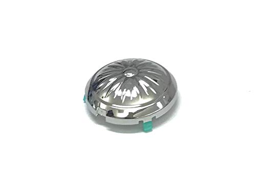 OEM Samsung Chrome Washing Machine Washplate Pulsator Cap Shipped With WA52M7750AV, WA52M7750AV/A4, WA52M7750AW, WA52M7750AW/A4
