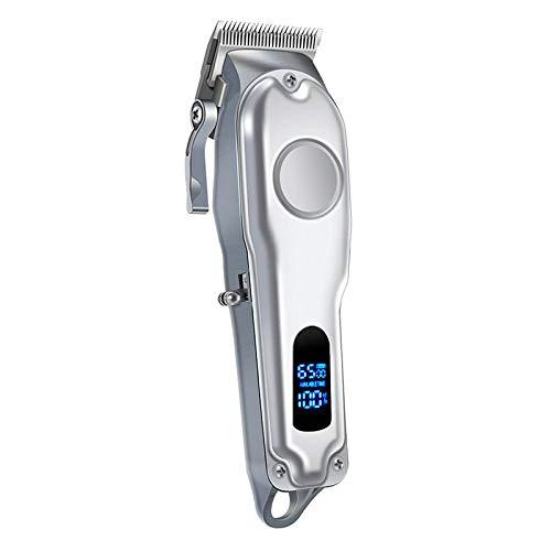 F Fityle 10W profesional Barbero eléctrico pelo cara barba aseo estilizadora 0mm ribete máquina cortador Kit para hombres padre novio