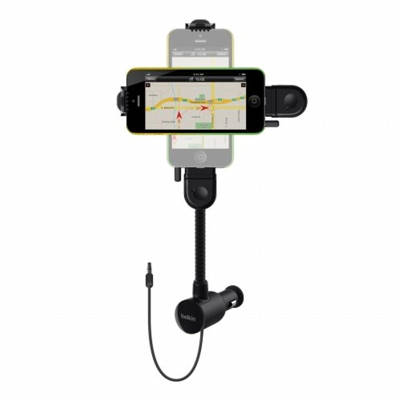 反対したブラウスラリー【国内正規代理店品】belkin ベルキン MFi認証品 iPhone SE/5s/5c/5対応 カー用 トランスミッターTunebase Direct F8J037bt