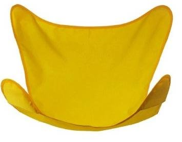 Sunny Gold Butterfly Chair Cover