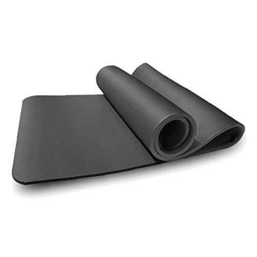 Yoga Mat 8mm Stretching Entrenamiento Alfombra Antideslizante Respetuosa del Medio Ambiente para El Hogar Gimnasio Fitness Ejercicio De Suministro