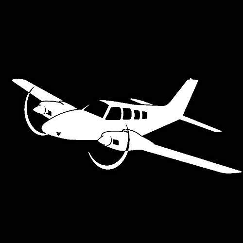 Autocollants pour voitures 18.8 cm * 7.7 cm Luce Sensazione Bella Cabina passeggeri Aeroplano Originale Auto Adesivo per Auto in Vinile autocollants pour voitures (Color Name : Silver)