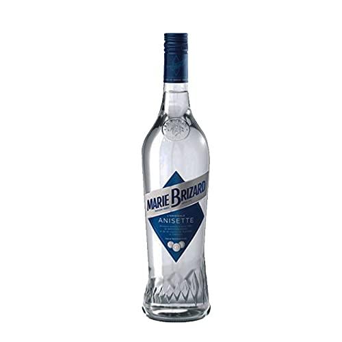 Licor Anisette Marie Brizard de 100 cl - Elaborado en Francia - Bardinet (Pack de 1 botella)