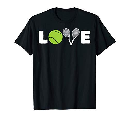 Tennis LOVE   Bälle & Schläger   Tennisliebhaber Shirt