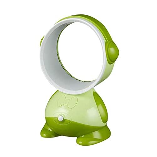 ZHOUJ Mesa de ventilador portátil USB sin aspas Mini aire acondicionado de refrigeración por flujo de aire ventilador frío ventilador nebulizador - Ventilador de aire acondicionado de escritorio